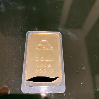 日本マテリアル 金 インゴット 100g