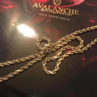 アヴァランチ(AVALANCHE)のアバランチ 10K ロープネックレス5ミリ 売り切りセール!格安!(ネックレス)