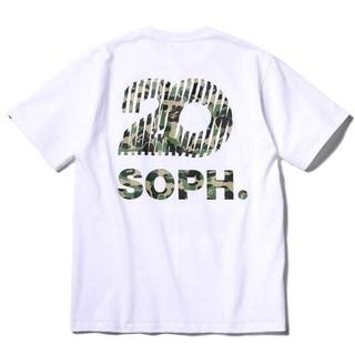 ソフ(SOPH)のSOPH.20 BAPE HEAD TEE    白 M 新品(Tシャツ/カットソー(半袖/袖なし))