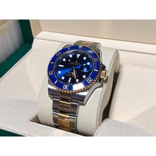ロレックス(ROLEX)の国内正規 2018年12月購入 ロレックスサブマリーナ 青サブ 116613LB(腕時計(アナログ))