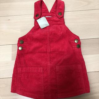 e90016a8250b5 ネクスト(NEXT)のNEXT 赤 ジャンパースカート 86cm(スカート)