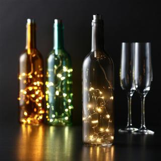 フランフラン(Francfranc)のお値下中!Francfranc ボトルライト グレー 新品(テーブルスタンド)