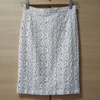 デミルクスビームス(Demi-Luxe BEAMS)のDemi-Luxe BEAMS レースタイトスカート 36(ひざ丈スカート)