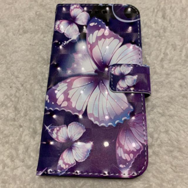 i phone XR 手帳型ケース 蝶々の通販 by こーり's shop|ラクマ