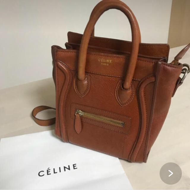 a10a1295bb4a celine(セリーヌ)のCELINE セリーヌ ラゲージナノショッパー ショルダーバッグハンドバッグ レディースのバッグ