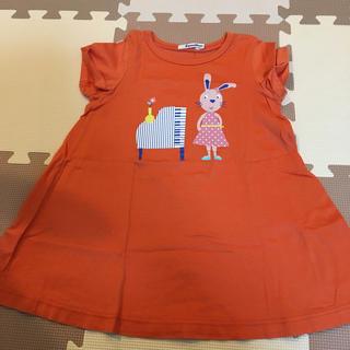 4048117c9e8b9 ファミリア(familiar)のファミリア チュニックワンピース 100(Tシャツ カットソー)