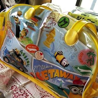 ミニオン - ミニオンズ ビニールバッグ プールバッグ 新品・タグ付き クリアバッグ