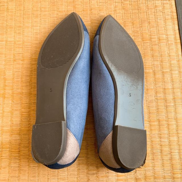GU(ジーユー)のパンプス Sサイズ ぺったんこ靴 レディースの靴/シューズ(ハイヒール/パンプス)の商品写真