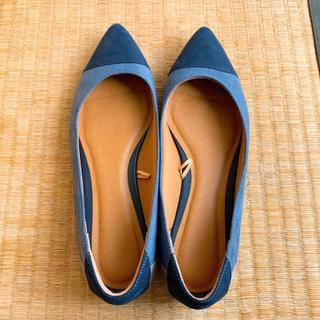 ジーユー(GU)のパンプス Sサイズ ぺったんこ靴(ハイヒール/パンプス)
