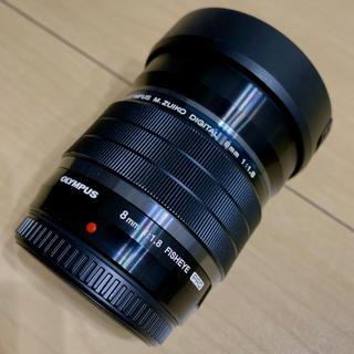 オリンパス(OLYMPUS)のコメット113さま専用 M.ZUIKO DIGITAL ED 8mm F1.8(レンズ(単焦点))