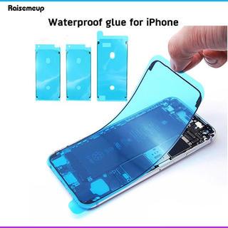 アイフォーン(iPhone)のiPhone7 フロントパネル交換用防水シール ブラック(その他)