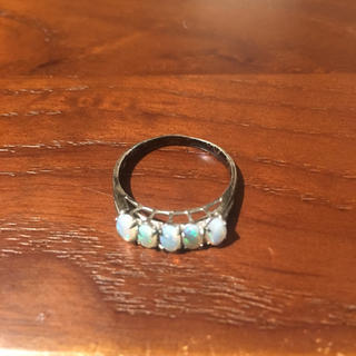 18k 5連オパール指輪(リング(指輪))
