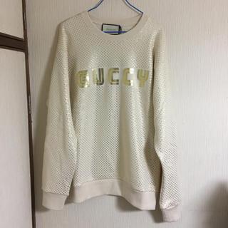 グッチ(Gucci)の新品 本物 国内正規品 GUCCI グッチ スウェット トレーナー GUCCY(トレーナー/スウェット)