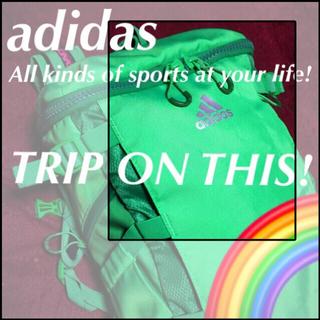 アディダス(adidas)の♦️【adidas】ネオン眩しきスーパーウエポン☆‼️(バッグ)