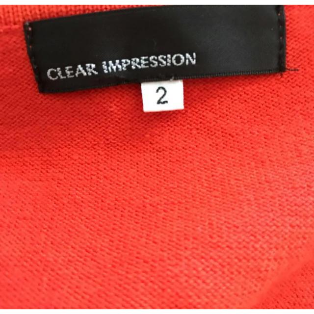 CLEAR IMPRESSION(クリアインプレッション)のクリアインプレッション トップス 値下げしました レディースのトップス(カットソー(半袖/袖なし))の商品写真