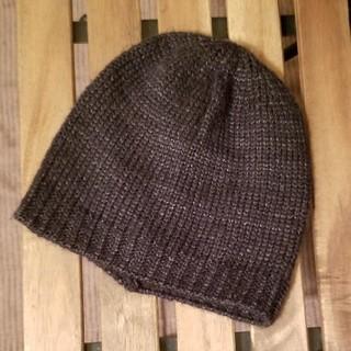 エイチアンドエム(H&M)のH&M ニット帽 ブラック(ニット帽/ビーニー)