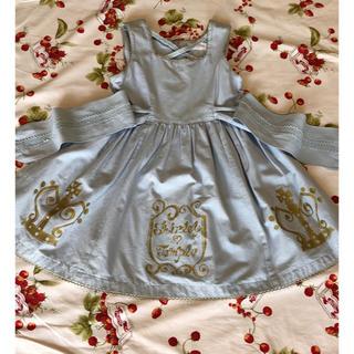 ed4d263c40cef シャーリーテンプル(Shirley Temple)のシャーリーテンプル 120 王冠 ジャンパースカート(ワンピース)