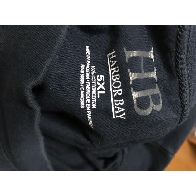 古着 5XL トレーナー  スウェット ビッグシルエット ネイビー メンズのトップス(スウェット)の商品写真