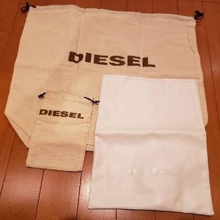 ディーゼル(DIESEL)の【値下げ🔥】DIESEL ディーゼル ショッピング袋 ギフト袋 3種(ショップ袋)