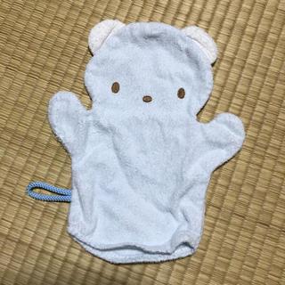 ファミリア(familiar)のファミリア 赤ちゃん 体を洗うミトン(その他)