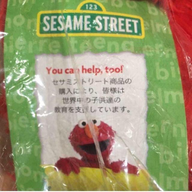 SESAME STREET(セサミストリート)のセサミストリート エルモ ぬいぐるみ 送料無料 エンタメ/ホビーのおもちゃ/ぬいぐるみ(ぬいぐるみ)の商品写真