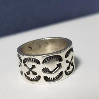 インディアン(Indian)のナバホ族  リング  Navajo(リング(指輪))