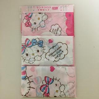 サンリオ(サンリオ)の♡Hello kitty  ランチクロス 3枚セット♡(その他)