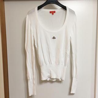 ヴィヴィアンウエストウッド(Vivienne Westwood)のイタリア製 ヴィヴィアン ウエストウッ薄手セーター(ニット/セーター)