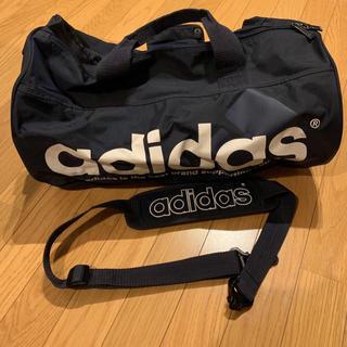adidas - アディダス ボストンバッグ ネイビー