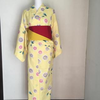 5-32レディース浴衣|リバーシブル帯セット(浴衣)