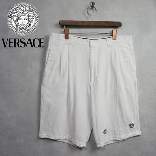 ジャンニヴェルサーチ(Gianni Versace)のVERSACE 2タック シルク ビックパンツ メデューサ(その他)