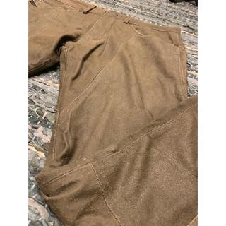 ブラックゴールド(BLACK GOLD)のDIESEL BLACK GOLD レザー ボトムス パンツ ズボン 本革(デニム/ジーンズ)