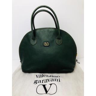 ヴァレンティノガラヴァーニ(valentino garavani)のA037 ヴァレンティノガラヴァーニ ハンドバッグ カーキ 保存袋付き(ハンドバッグ)