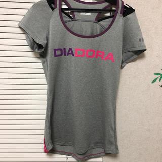 ディアドラ(DIADORA)のディアドラ Tシャツ ヨガ フィットネスSサイズ向け(ヨガ)