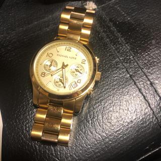 マイケルコース(Michael Kors)のMICHAEL KORS 腕時計  お値下げ(腕時計)