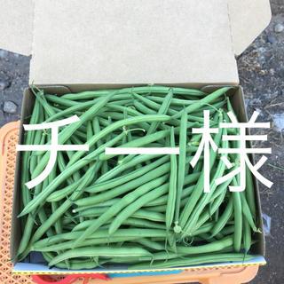 鹿児島産甘サヤインゲン箱込み1キロ^_^(野菜)