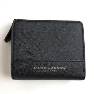f46d936a6aad マークジェイコブス(MARC JACOBS)のマークジェイコブス 2つ折り財布 ウォレット M0014235 黒 ブラック