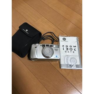 オリンパス(OLYMPUS)のコニカミノルタ ZOOM 130c DATE コンパクトカメラ【ジャンク品扱い】(フィルムカメラ)