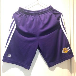 adidas - adidas★NBA Lakers ハーフパンツ M