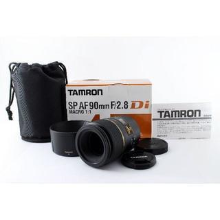 タムロン(TAMRON)の★大人気レンズ★TAMRON SP AF 90mm F2.8 Di MACRO(レンズ(単焦点))