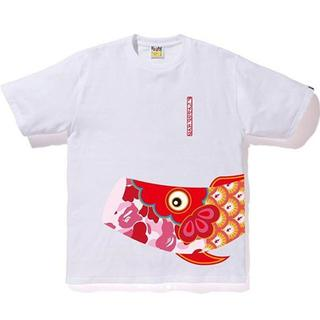 アベイシングエイプ(A BATHING APE)のサイズ M BAPE 鯉のぼり CHILDREN'S DAY TEE(Tシャツ/カットソー(半袖/袖なし))