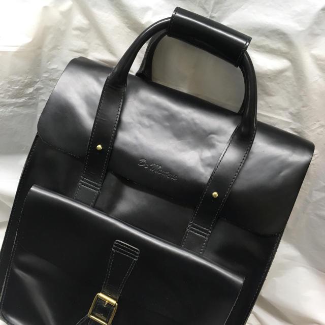 Dr.Martens(ドクターマーチン)のドクターマーチン Dr. Martens レザーリュック リュック ブラック レディースのバッグ(リュック/バックパック)の商品写真