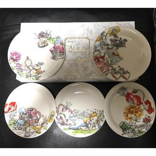 ディズニー(Disney)のアリスインワンダーランド お皿5枚セット(食器)