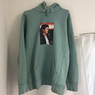 シュプリーム(Supreme)のMichael Jackson Hooded Sweatshirt 売り切り(パーカー)