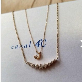 カナルヨンドシー(canal4℃)の限定ジュエリー!4℃ 2本組ネックレス(ネックレス)