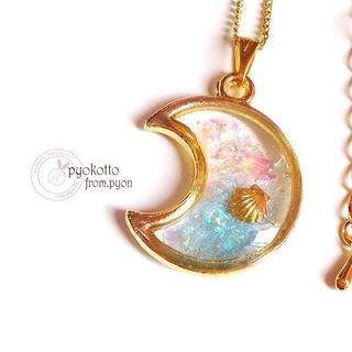 月のマリン♡ネックレス(ネックレス)