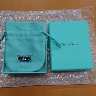 ティファニー(Tiffany & Co.)のティファニー1837!ブラック美品!(リング(指輪))
