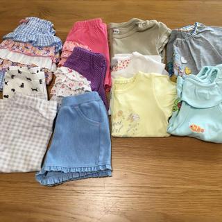 dd59ef519a739 ユニクロ(UNIQLO)の女の子 子供服 サイズ80・90(Tシャツ