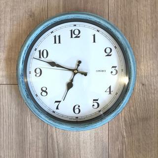 フランフラン(Francfranc)のフランフラン 壁掛け時計 電波時計 ジャンク品 (掛時計/柱時計)