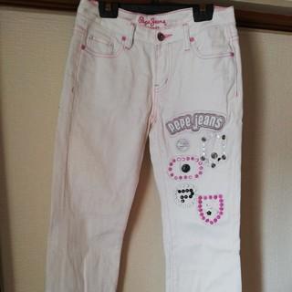 ペペジーンズ(Pepe Jeans)の最安値!PePeJeaNs ★スタッズデザインホワイトデニム(デニム/ジーンズ)